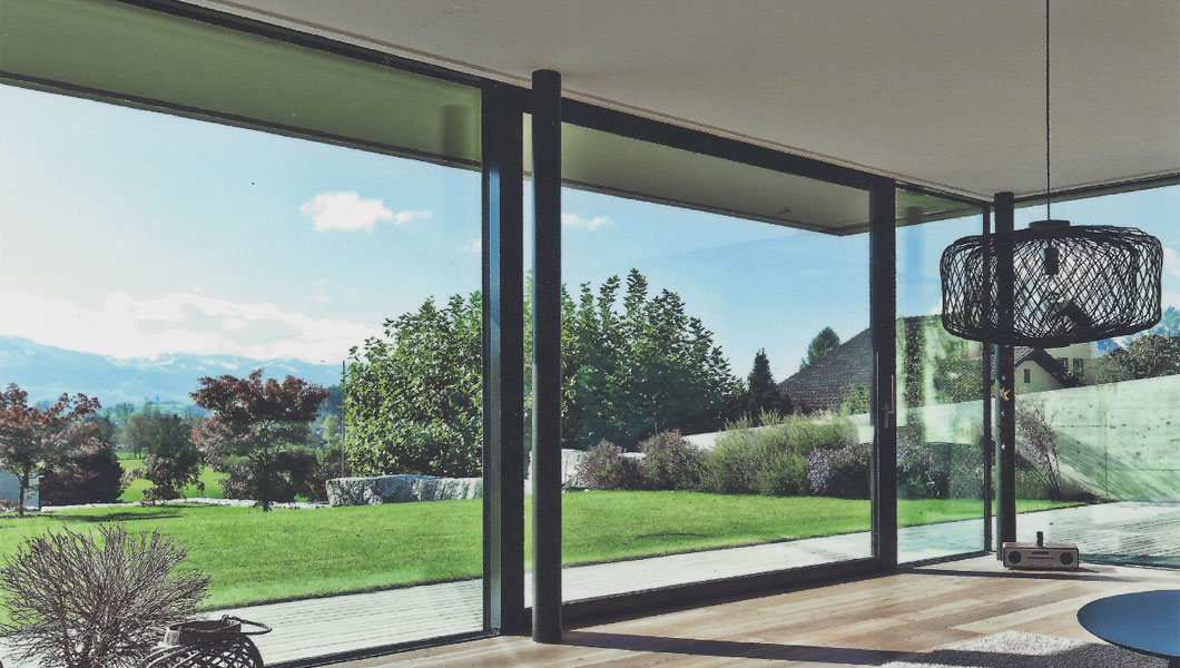Large aspect sliding door