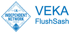 We supply the VEKA FlushSash range of flush casement windows