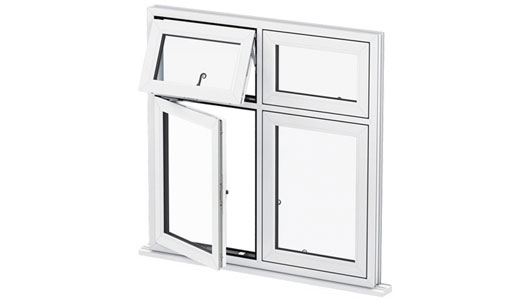 What is a flush casement window