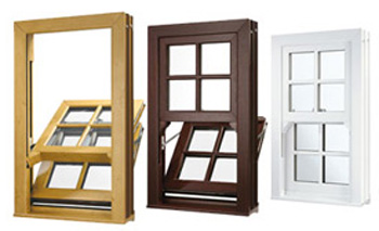 uPVC vertical sash windows