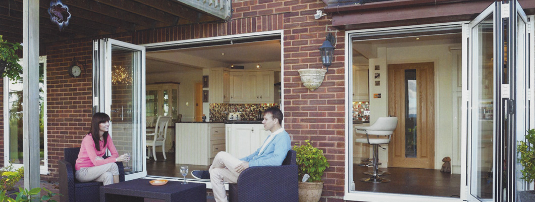Bifold doors for modern homes